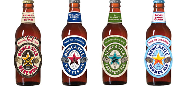 Newcastle Limited Release Bottles