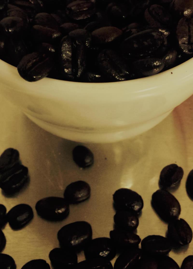 Locally roasted fair trade coffee