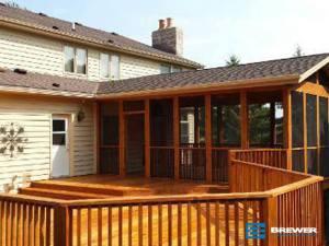Decks, deck remodeling, wooden decks, Racine, Kenosha