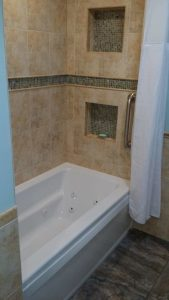 Bathroom remodeling, bathtub replacement