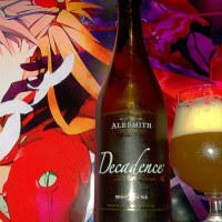 Decadence 2014 Anniversary Wheat Wine Ale by Alesmith