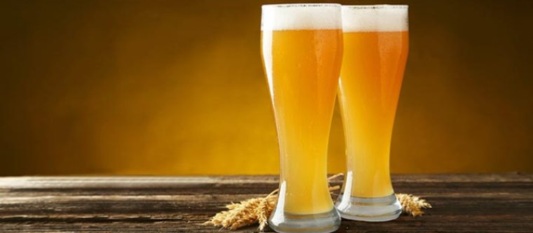 tall beer glasses