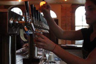 whats on tap at Brewery Becker