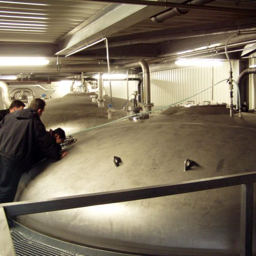 Brewery wastewater