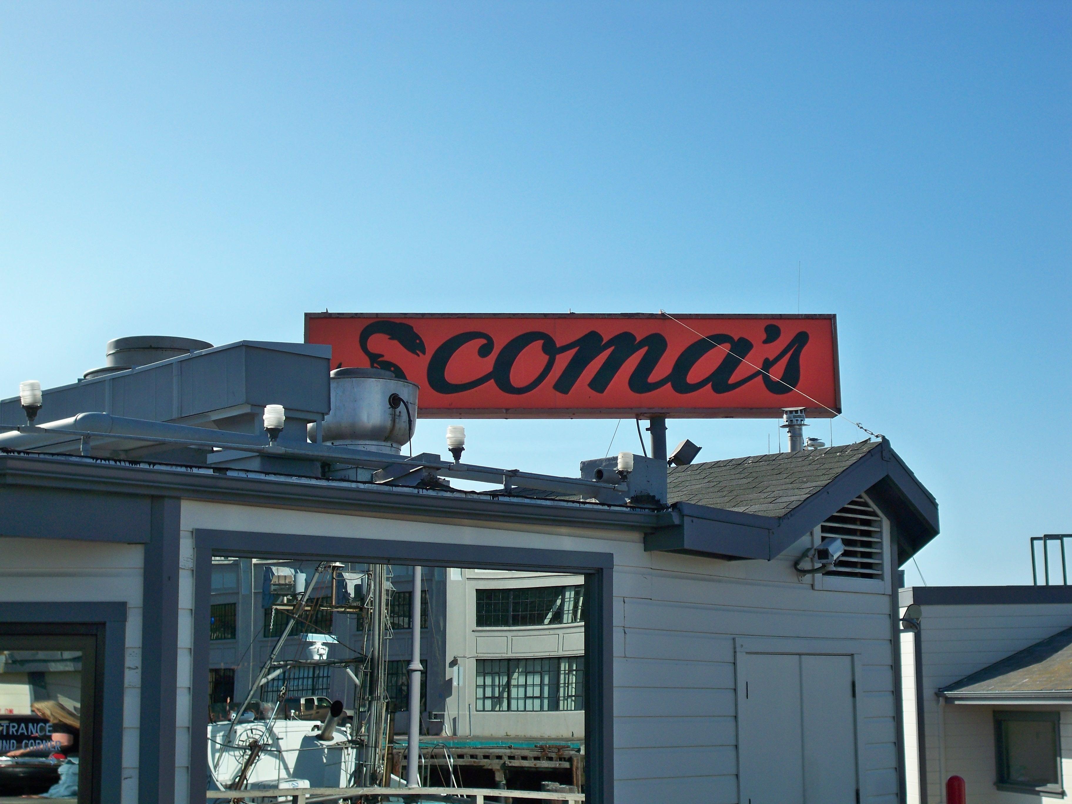 Scoma's Seafood Restaurant, Fisherman's Wharf, San Francisco