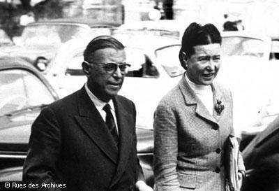 Jean-Paul Sartre & Simone de Beauvoir
