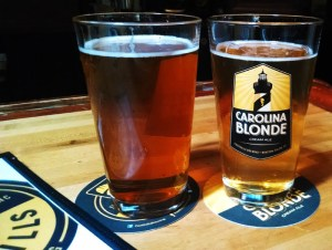 Two beers from Foothills Brewing