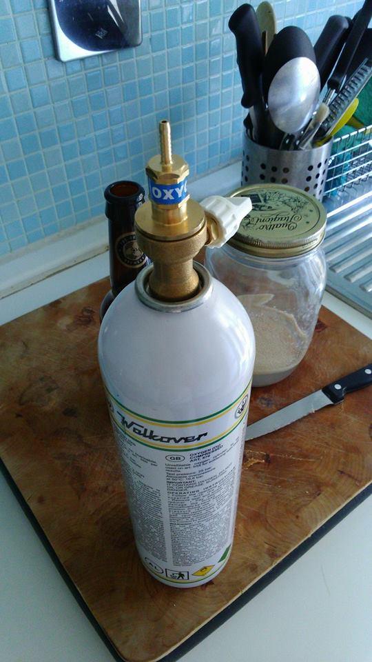 Ossigenare Il Mosto Con Bombola E Diffusore Inox Brewing Bad