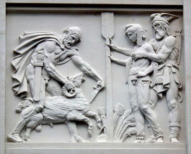 Image result for death of odysseus