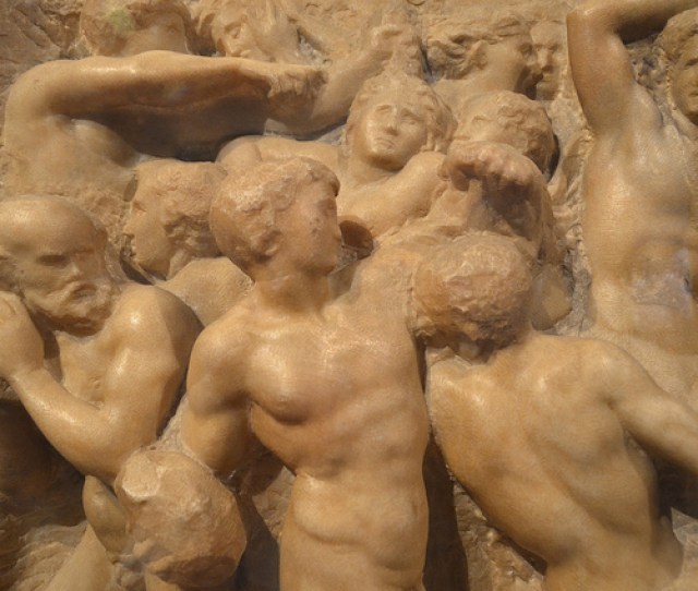 Centaurs Below And Battle Of Cascina Or Leonardos Battle Of Anghiari Could Have Existed Without The Prototype Of Pollaiuolos Battle Of Ten Nudes