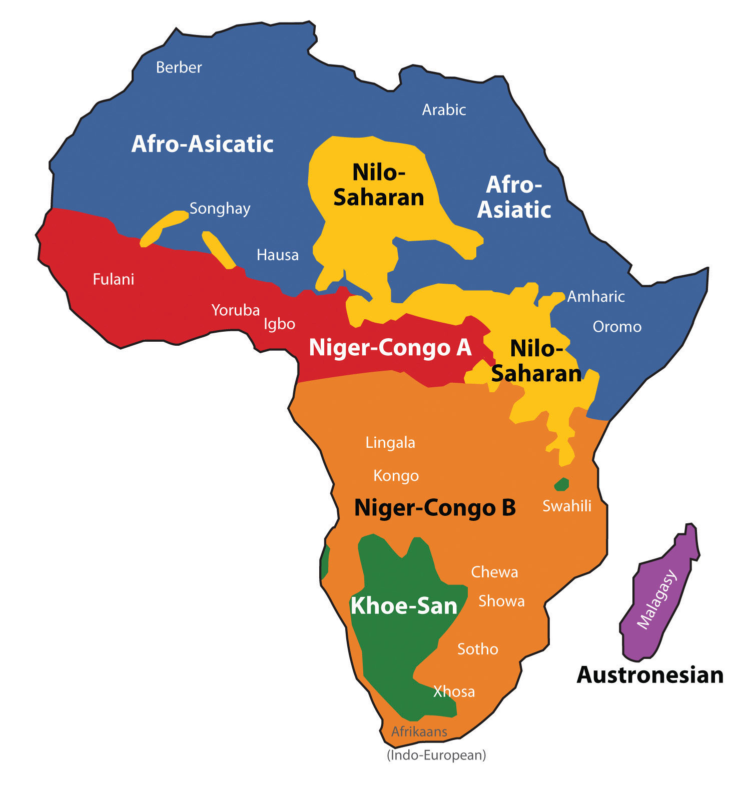 A Geographicalysis Of Sub Saharan Africa
