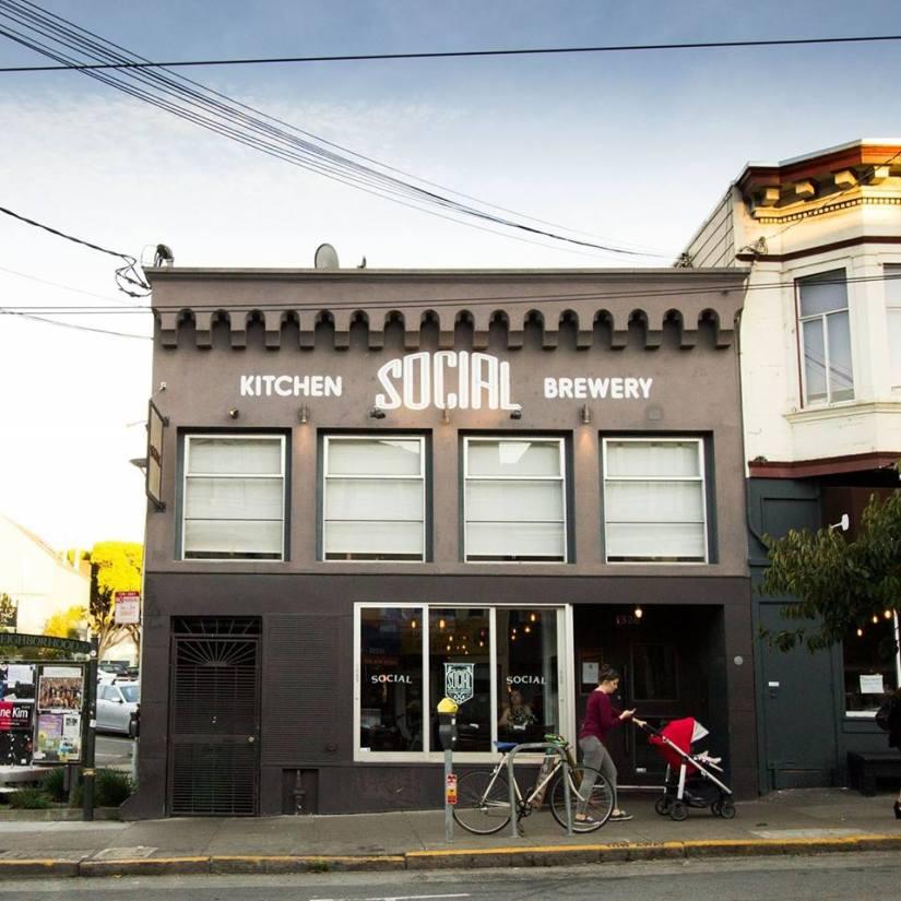 Social Kitchen brewery à San Francisco