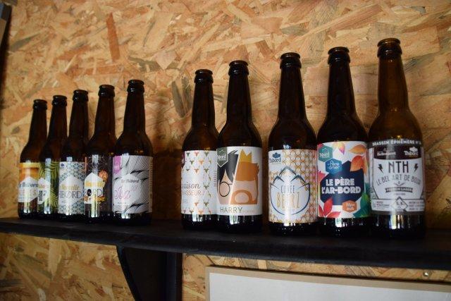Gamme de bières brasserie Thibord