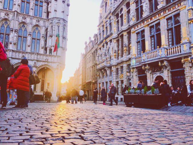 L'arbre d'or à Bruxelles