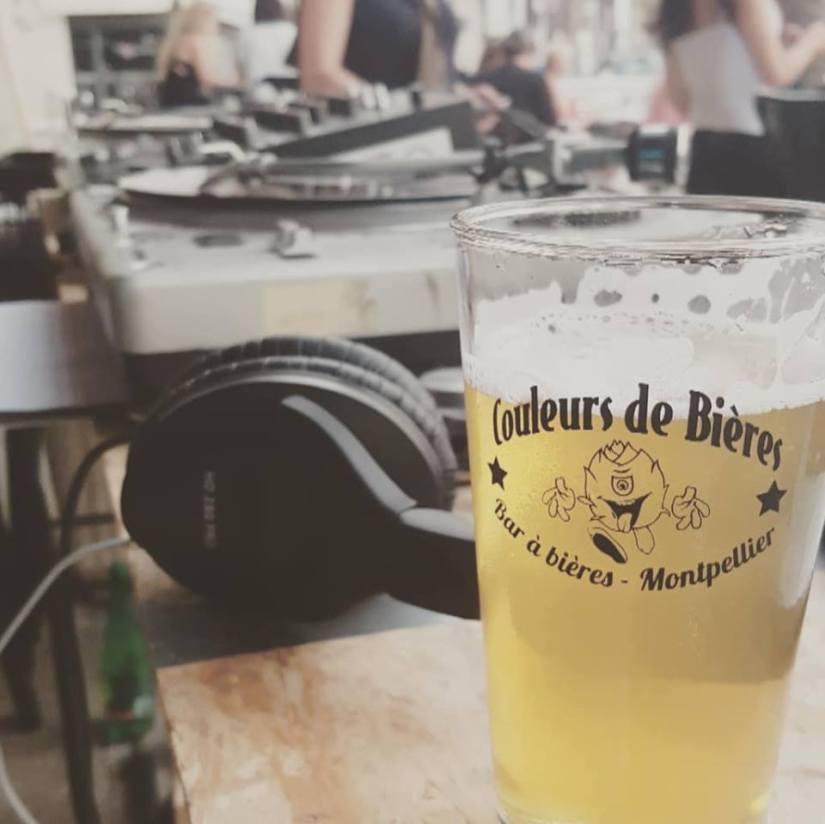 Les verres du Bar Couleurs de bières