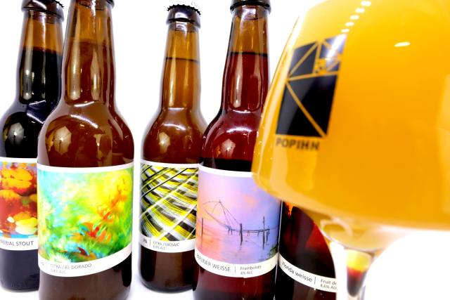 bière artisanale française de la brasserie popihn