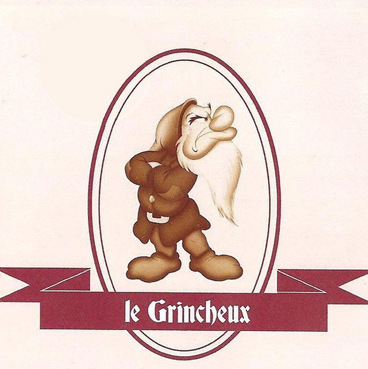 Le logo du bar le grincheux