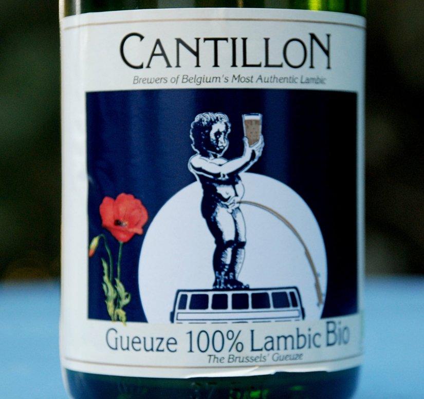 Bouteille de bière gueuze Cantillon