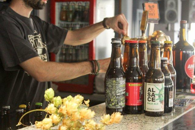 Houblon dans la bière