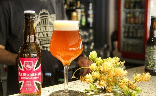 Bière IPA houblonnée brasserie Sainte Cru