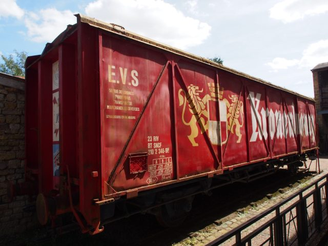 Train de la bière Kronenbourg