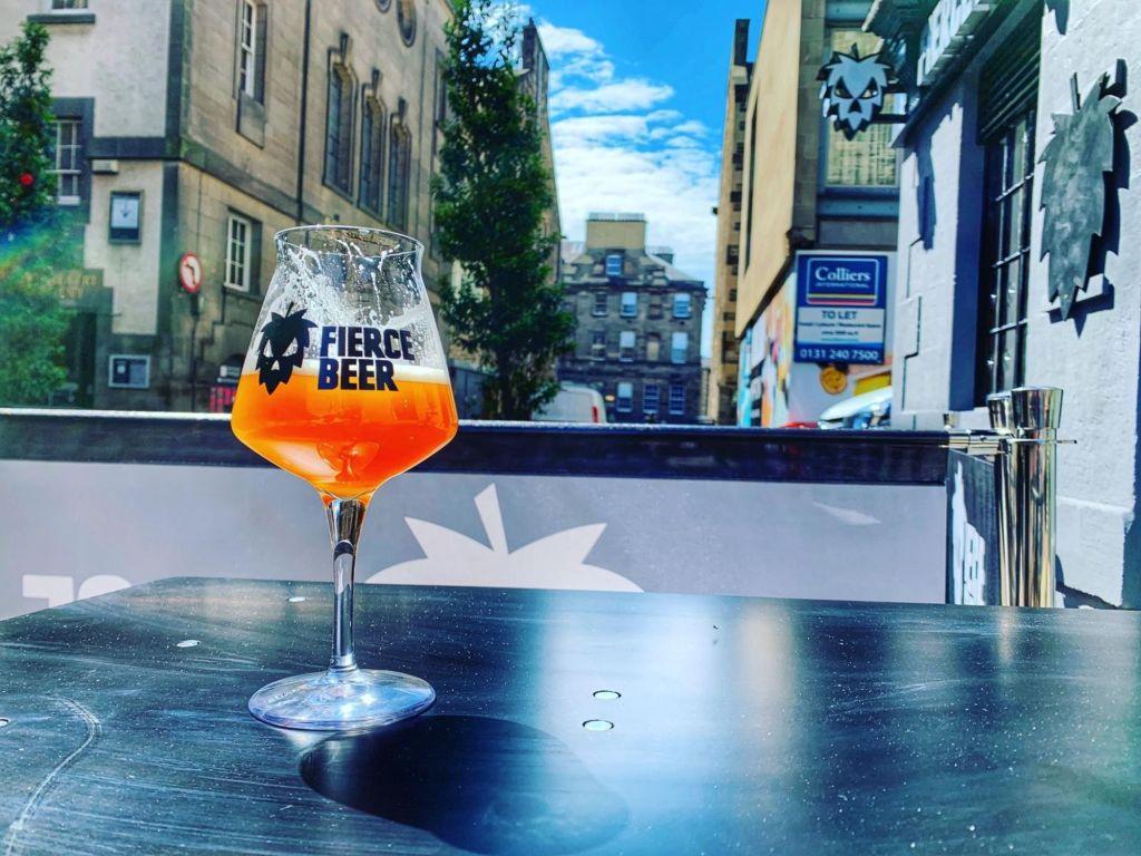 Fierce Bar à Edimbourg