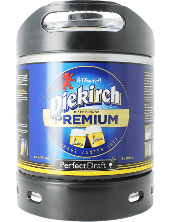 Bière Diekirch en fut compatible Perfectdraft