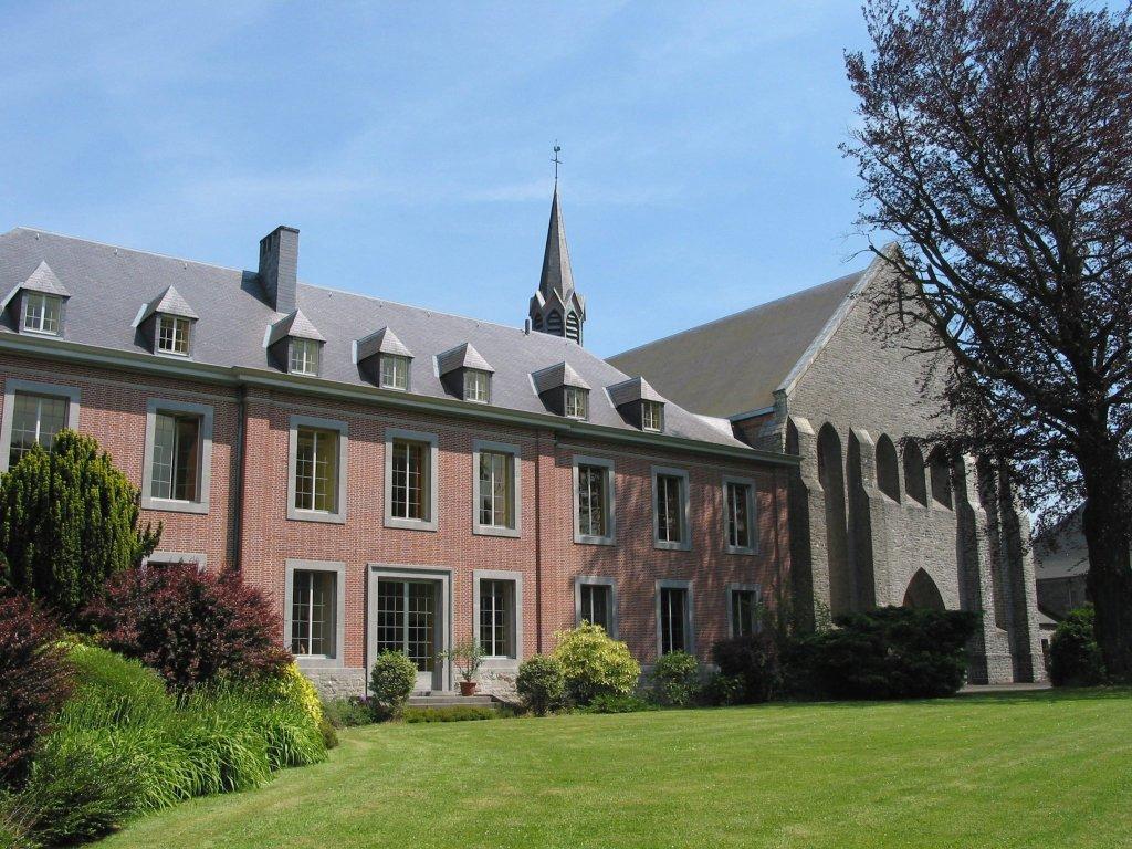 Abbaye Notre dame de scourmont qui produit la bière belge Chimay