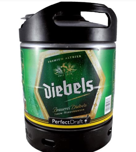 Le fut perfectdraft d'Allemagne Diebels.