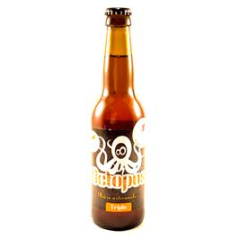 Bière triple brasserie Octopus
