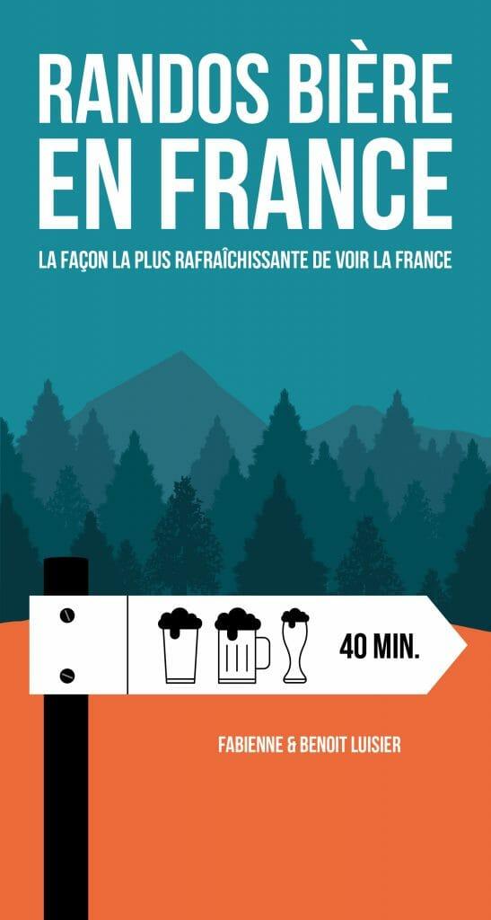 Livre cadeau bière Rando bière en France