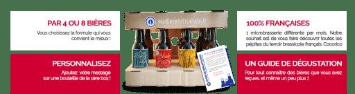Box bière Ma bière artisanale