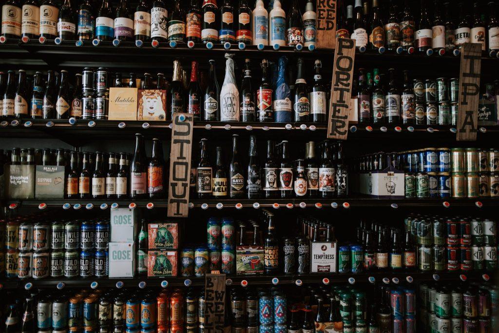 Magasin de bière