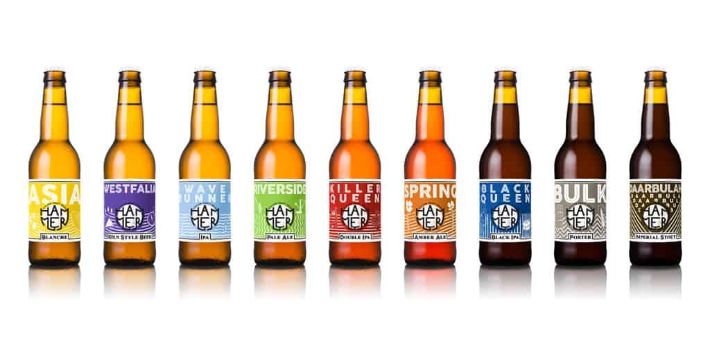 Gamme bière birrificio Hammer