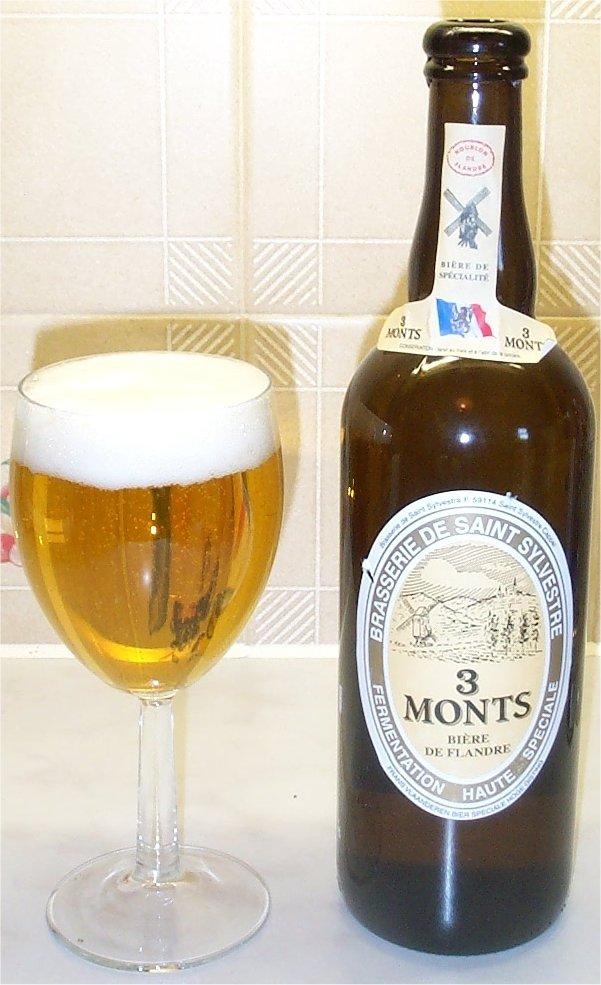 Bière de garde brasserie 3 monts