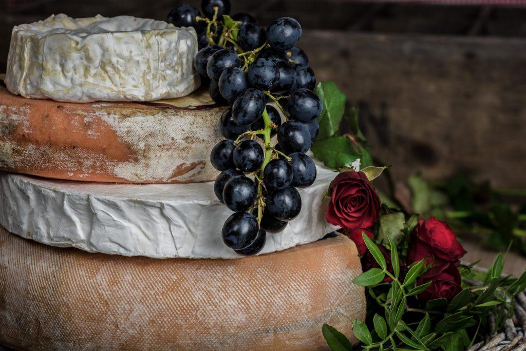 Camembert et autres fromages