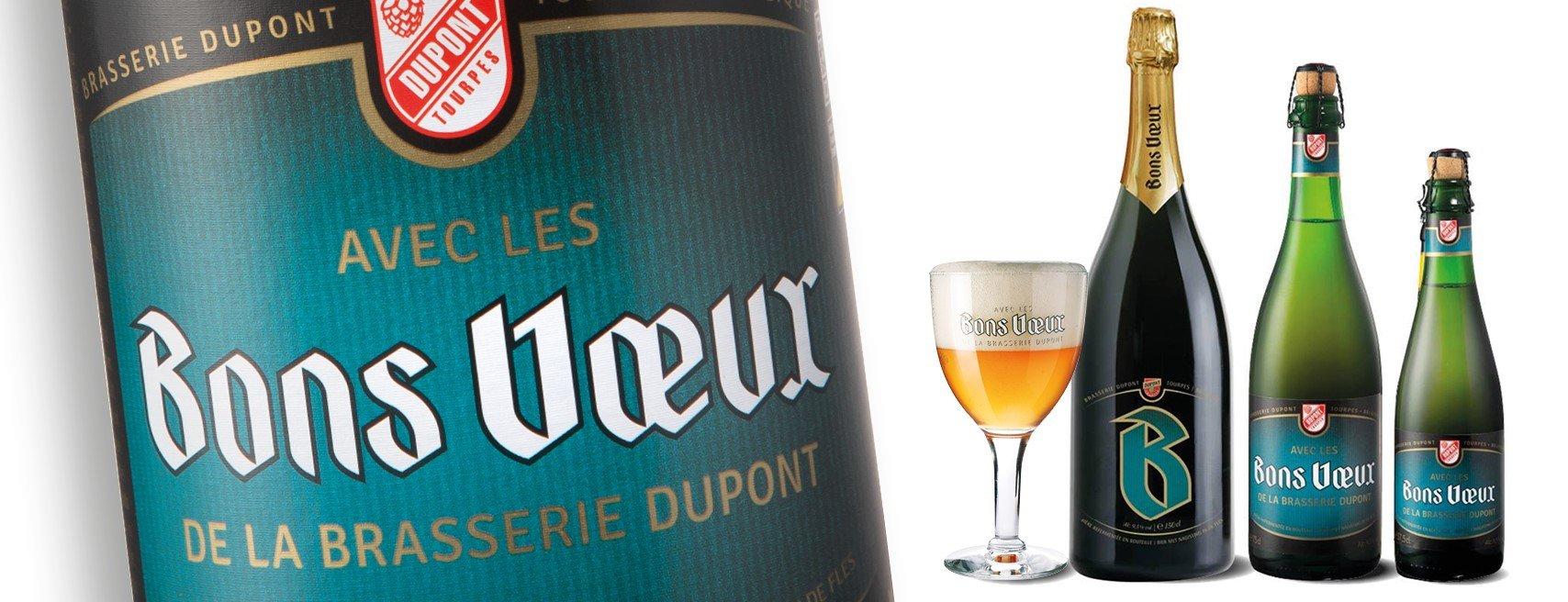 Bière Bons Voeux brasserie Dupont