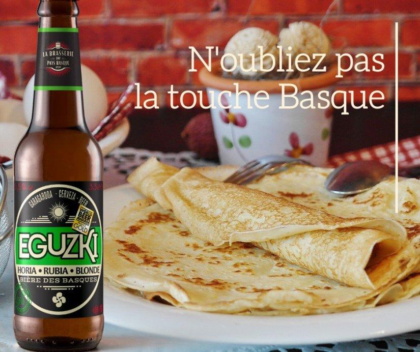 Bière blonde brasserie du Pays Basque