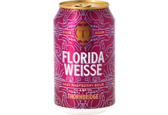 Florida Weisse beer from the Jaipur brewerie