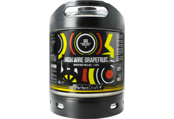 Fût 6 litres bière High Wire Grapefruit de Magic Rock Brewing