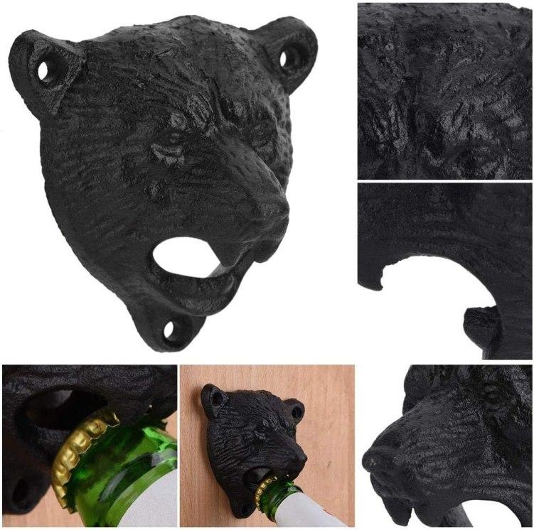 Décapsuleur mural ours