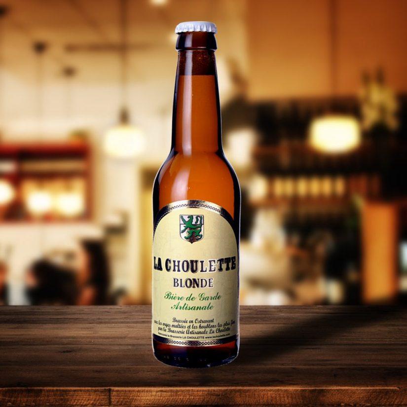 Bière blonde brasserie La choulette