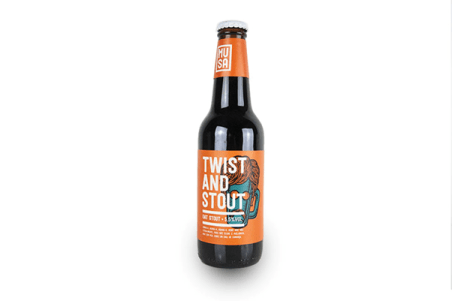 Twist and Stout Musa brewery beer