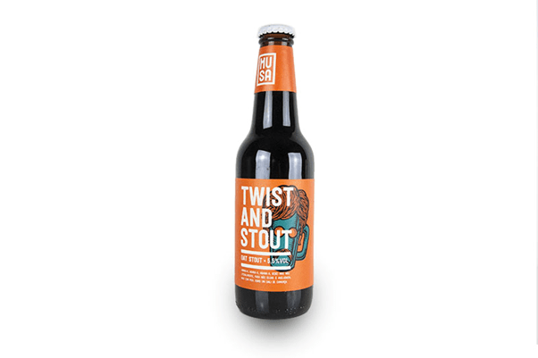 Bière Twist and Stout brasserie Musa