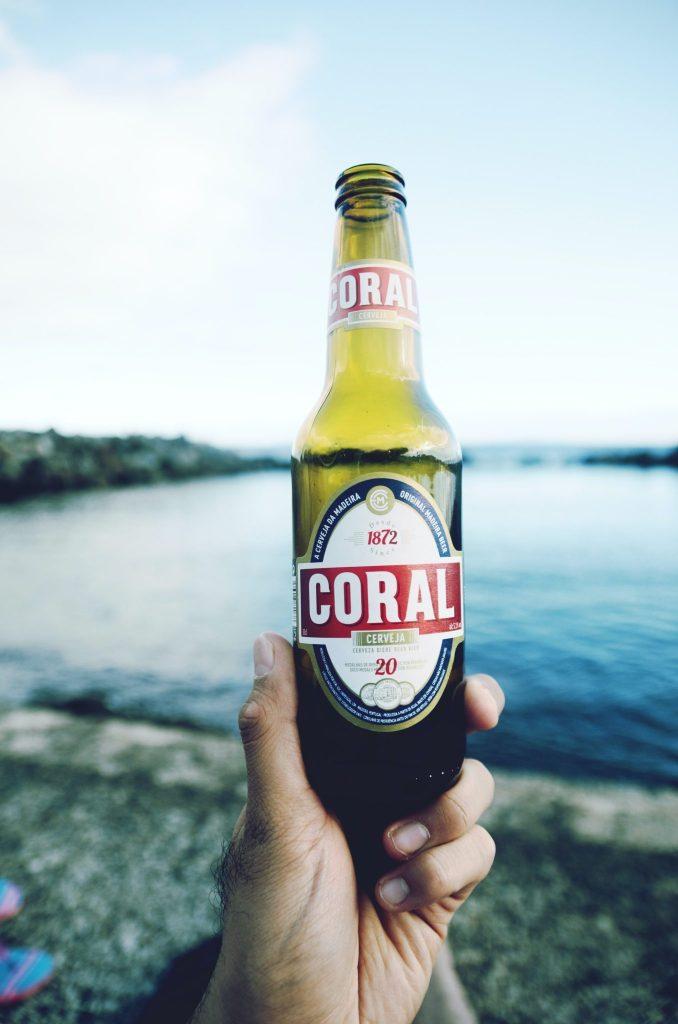 Coral beer