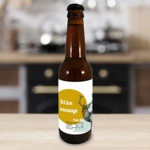 Bière artisanale personnalisée