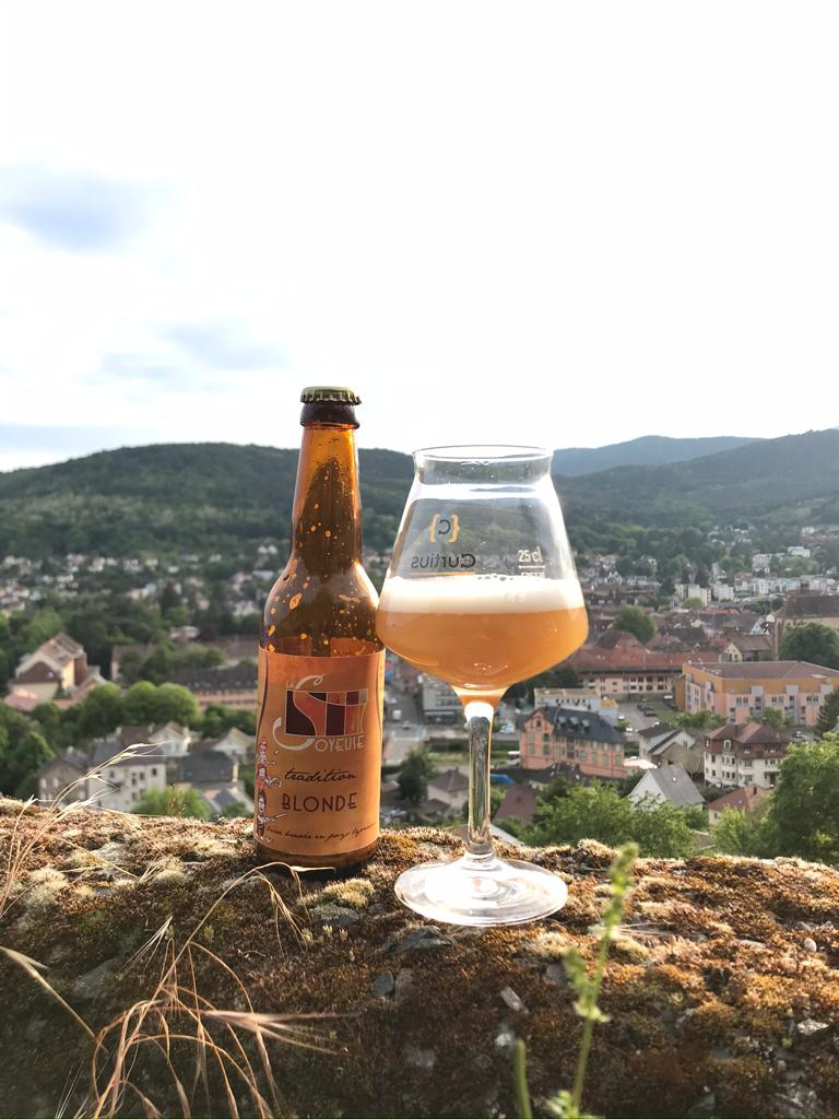 Brasserie la Soyeuse bière blonde