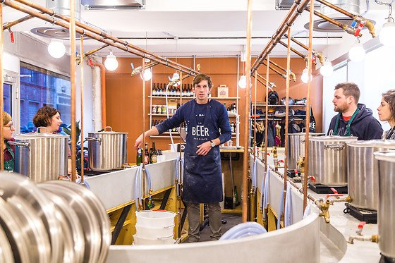 La Beer Fabrique Atelier brassage Paris