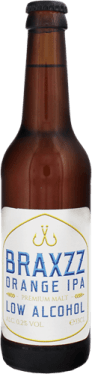Alcohol-free Braxzz Orange IPA