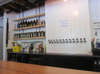 Taps and growlers.